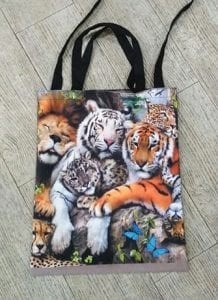 Print Sublimation on Totebags
