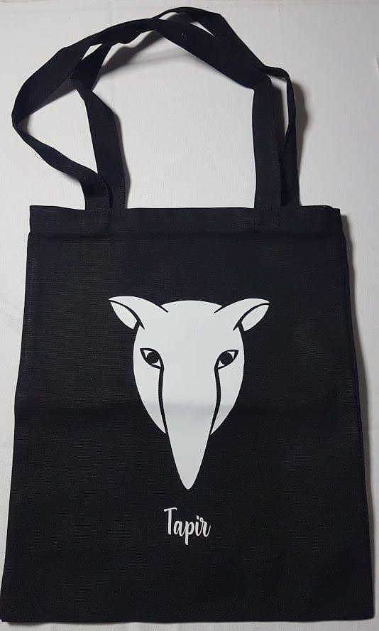tote bag custom dengan gambar tapir