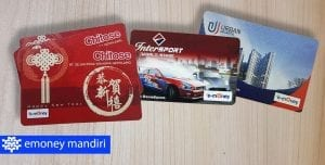 e money mandiri custom