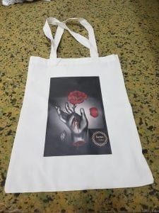 tote bag dengan print dtg