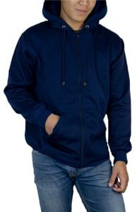 zipper(navy)