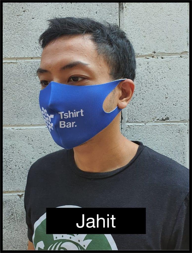 Jual Masker Mulut Kain Murah Desain Custom | Tshirtbar