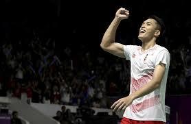Baju Timnas Badminton ASEAN Games di tahun 2018