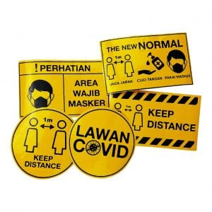 contoh stiker safety