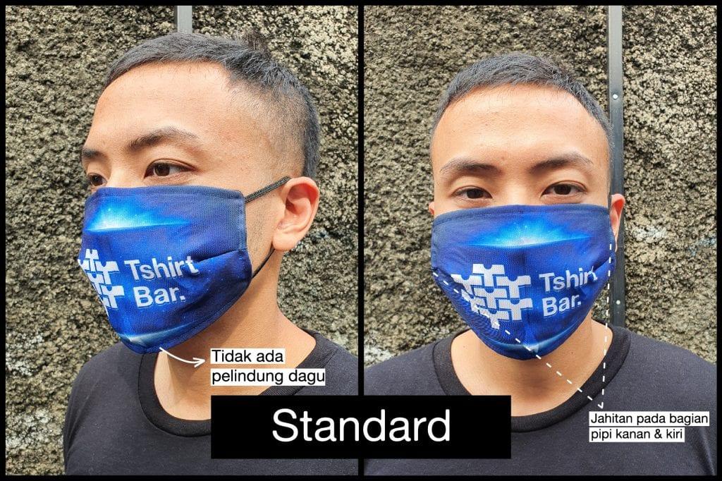 Jual Masker Mulut Kain Murah Desain Custom   Tshirtbar
