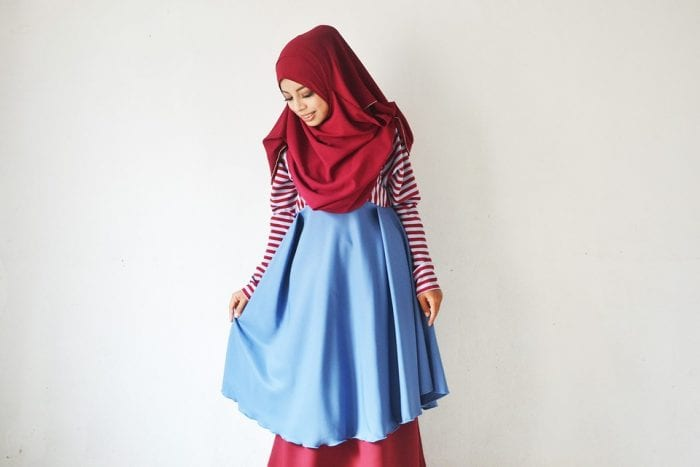 Pilihan Model Baju Tunik Bahan Katun