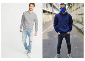 perbedaan hoodie dan sweater