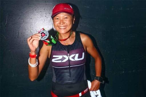 Inge Prasetyo seorang atlet lari wanita indonesia
