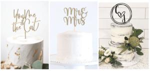 penggunaan cake topper untuk dekorasi