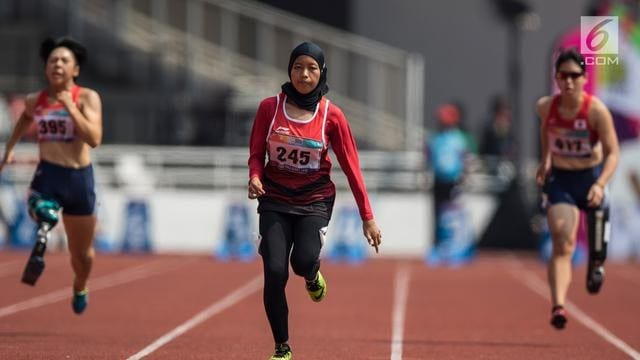 karisma evi adalah seorang atlet lari wanita indonesia