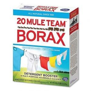 menggunakan borax