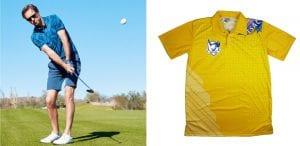 contoh outfit untuk main golf