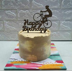 contoh topper kue bertuliskan happy birthday