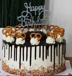 contoh cake topper