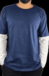 Double Layer Long Sleeve Tshirt