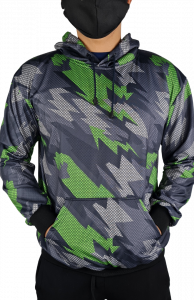 fullprint jacket hoodie cowo