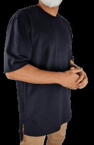 oversized tshirt side